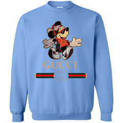 Gucci Mickey Fashion Stylelist Music T-shirt Crewneck Pullover Sweatshirt Crewneck Pullover Sweatshirt - PresentTees