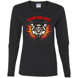 Gucci 2018 Cat Blind For You T-shirt Women Long Sleeve Shirt