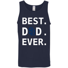 Best San Diego Padres Dad Ever Baseball Fathers Day Shirt Mens Tank Top Mens Tank Top - PresentTees