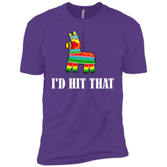 I'd Hit That Pinata T-shirt - Cinco De Mayo Pinata Shirts Boys Cotton T-Shirt - PresentTees