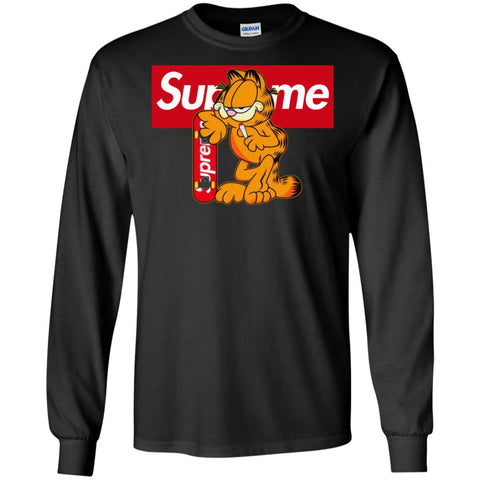 Supreme Tiger T-shirt Men Long Sleeve Shirt Black / S Men Long Sleeve Shirt - PresentTees
