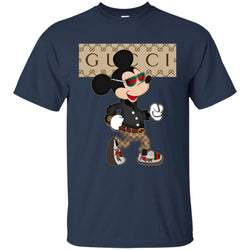Gucci Shirt Mickey Mouse 2018 Men Cotton T-Shirt