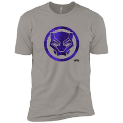 Marvel Black Panther Movie Purple Splatter Icon T-shirt Mens Short Sleeve T-Shirt - PresentTees