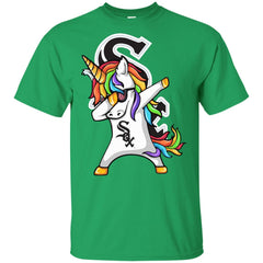 Unicorn Dabbing Chicago White Sox Baseball Mlb Shirt Youth Cotton T-Shirt - PresentTees