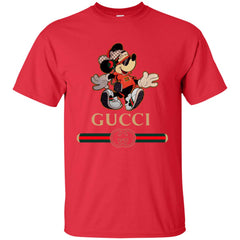 Gucci Mickey Fashion Stylelist Music T-shirt Men Cotton T-Shirt Men Cotton T-Shirt - PresentTees