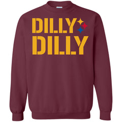 Dilly Dilly Logo Steelers Shirt Crewneck Pullover Sweatshirt Crewneck Pullover Sweatshirt - PresentTees