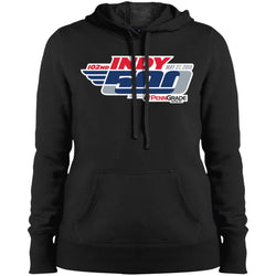 102nd Indy 500 - Indianapolis 500 Ladies Pullover Hooded Sweatshirt
