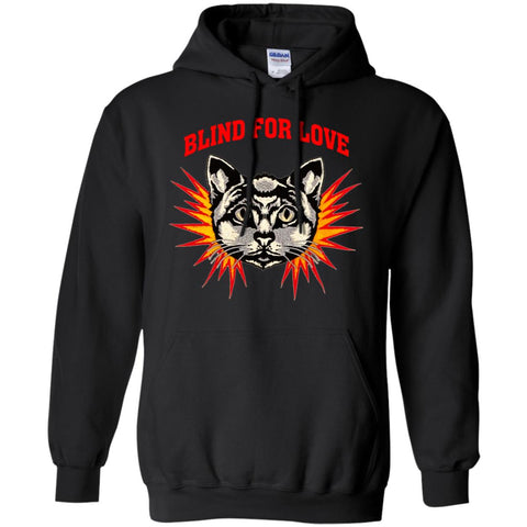 Gucci 2018 Cat Blind For You T-shirt Pullover Hoodie Sweatshirt Black / S Pullover Hoodie Sweatshirt - PresentTees