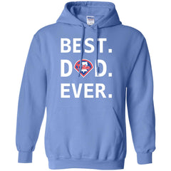 Best Philadelphia Phillies Dad Ever Baseball Fathers Day Shirt Mens Pullover Hoodie Mens Pullover Hoodie - PresentTees