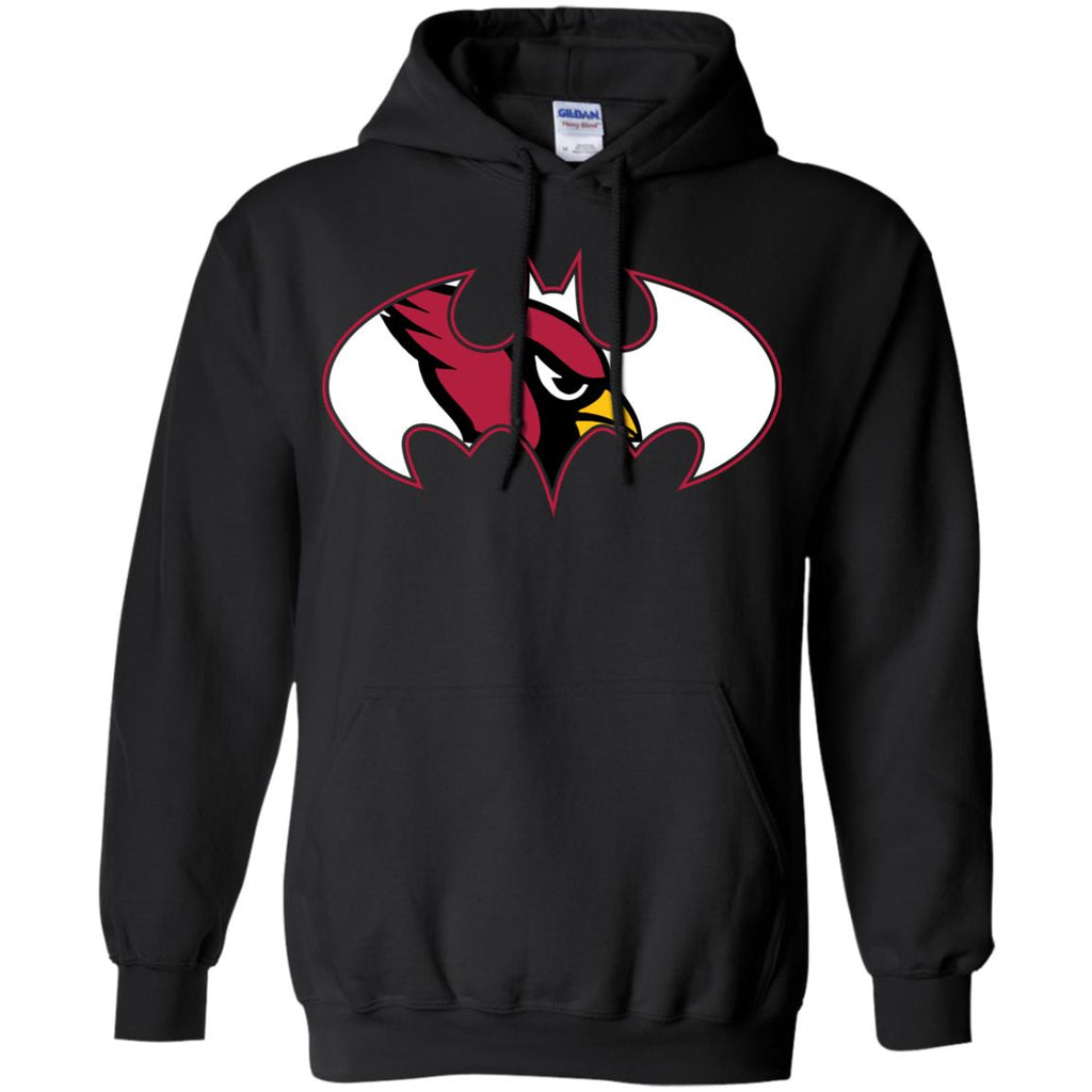2dba2123 We Are The Arizona Cardinals Batman Nfl Mashup Pullover Hoodie ...