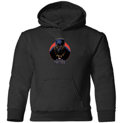Marvel Black Panther Movie Retro Circle Portrait Youth T Shirt Toddler Pullover Hoodie - PresentTees