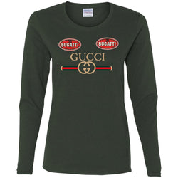Gucci Dugatti T-shirt Women Long Sleeve Shirt