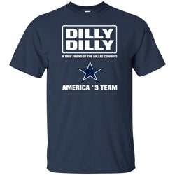 A True Friend Of The Dallas Cowboys Dilly Dilly Shirts