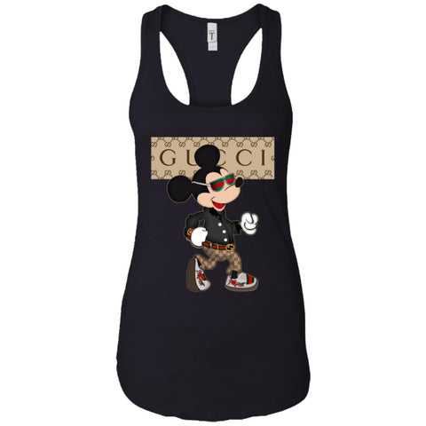 Gucci Shirt Mickey Mouse 2018 Women Tank Top Black / X-Small Women Tank Top - PresentTees