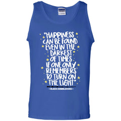 Harry Potter Happiness Can Be Found T Shirt Mens Cotton Tank Top Mens Cotton Tank Top - PresentTees