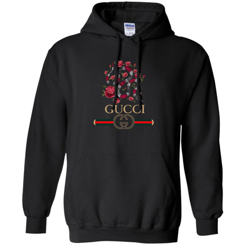 Gucci Logo T-shirt Snake 2018 Pullover Hoodie Sweatshirt Black / S Pullover Hoodie Sweatshirt - PresentTees