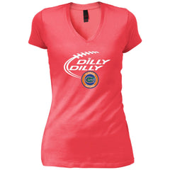 Dilly Dilly Florida Gators Shirts Womens V-Neck T-Shirt - PresentTees