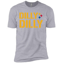 Dilly Dilly Logo Steelers Shirt Boys Cotton T-Shirt Boys Cotton T-Shirt - PresentTees