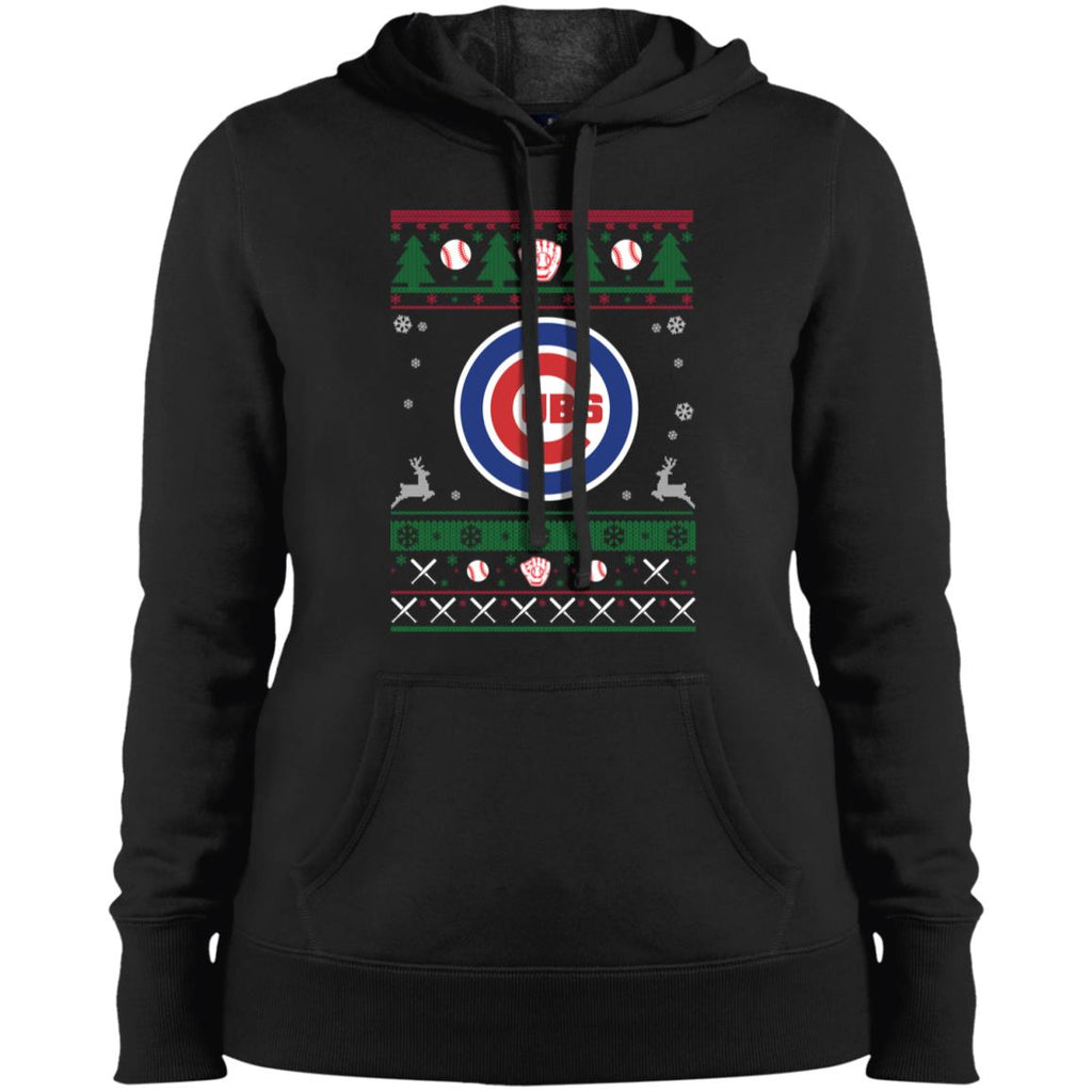 Chicago Cubs Baseball Mlb Ugly Christmas Sweater Presenttees
