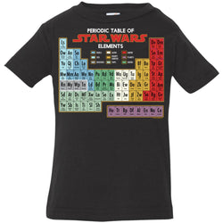 Star Wars Periodic Table Of Elements Graphic Infant Jersey T-Shirt