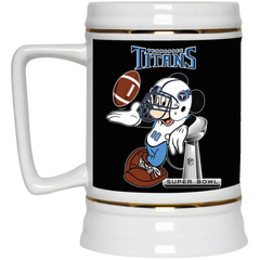 836b4ea6 Nfl Tennessee Titans Mickey Mouse Super Bowl Football Beer Stein 22 oz