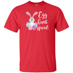 Egg Hunt Squad Easter Day T Shirt For Men And Women Mens Cotton T-Shirt - PresentTees