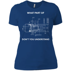 Funny Engineering T Shirt Mechanical Engineering T Shirt Ladies Boyfriend T-Shirt Ladies Boyfriend T-Shirt - PresentTees