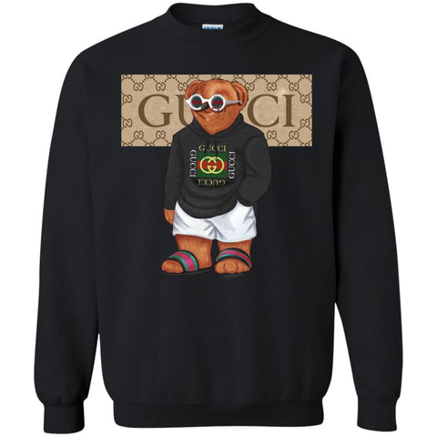 0f462256 Best Gucci Bear Style Fashion T-shirt Crewneck Pullover Sweatshirt Black /  S Crewneck Pullover