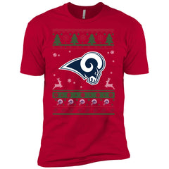quality design 68c46 8e96c Los Angeles Rams Logo Nfl Football Ugly Christmas Sweater
