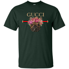 Gucci New Style Bull Dogs T-shirt Men Cotton T-Shirt Men Cotton T-Shirt - PresentTees