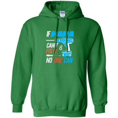 If Papa Cant Fix It Shirt Father's Day Gift Pullover Hoodie 8 oz Pullover Hoodie 8 oz - PresentTees