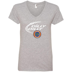 Dilly Dilly Florida Gators Shirts Ladies V-Neck T-Shirt - PresentTees