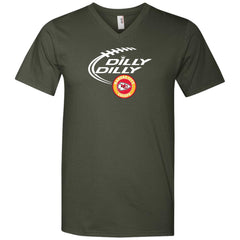 Dilly Dilly Kansas City Chiefs Shirt For Men And Women Mens V-Neck T-Shirt - PresentTees