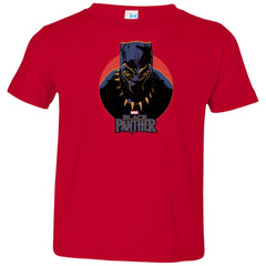Marvel Black Panther Movie Retro Circle Portrait Youth T Shirt Toddler Jersey T-Shirt - PresentTees
