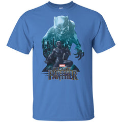 Kids Marvel Black Panther Wakandas Finest Youth T Shirt Youth Cotton T-Shirt - PresentTees