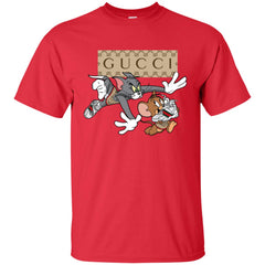 Gucci Tom And Jerry Cartoon T-shirt Men Cotton T-Shirt Men Cotton T-Shirt - PresentTees