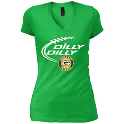 Dilly Dilly  Green Bay Packers Nfl Shirt For Men Women Kid Womens Vintage V-Neck T-Shirt