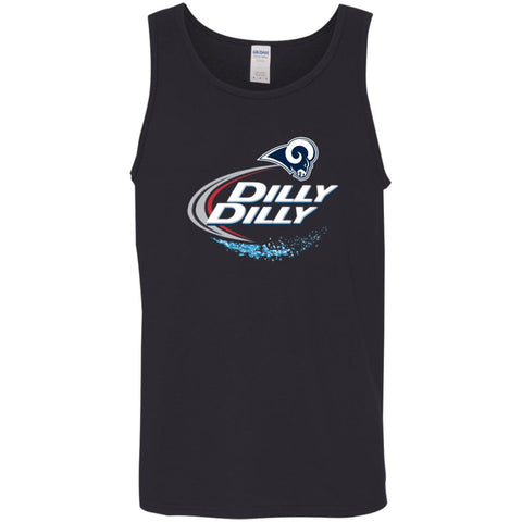 Los Angeles Rams Dilly Dilly Football Shirt Mens Tank Top Black / S Mens Tank Top - PresentTees