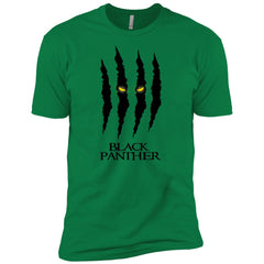 Mavel Black Panther Glares T Shirt Mens Short Sleeve T-Shirt - PresentTees