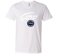 DILLY DILLY Baltimore Ravens shirt Men Printed V-Neck Tee - PresentTees