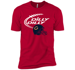 DILLY DILLY Chicago Bears NFL Team Logo Next Level Premium Short Sleeve Tee - PresentTees