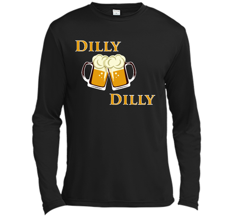 Dilly Dilly Let Make Friends T Shirt Black / Small LS Moisture Absorbing Shirt - PresentTees