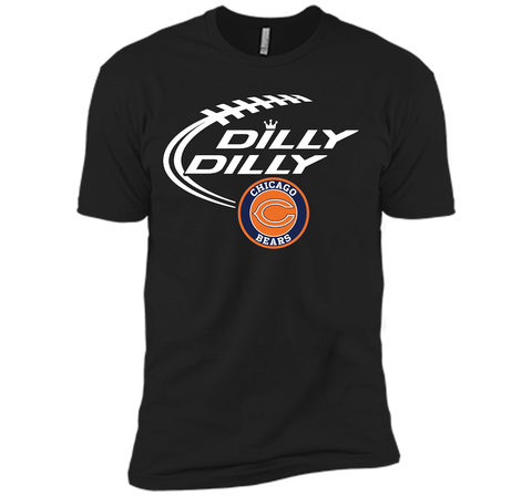 DILLY DILLY Chicago Bears shirt Black / Small Next Level Premium Short Sleeve Tee - PresentTees