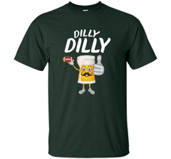 Bud Light Dilly Dilly Funny Football Beer T Shirt Custom Ultra Cotton Tshirt - PresentTees