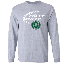 DILLY DILLY New York Jets shirt LS Ultra Cotton TShirt - PresentTees