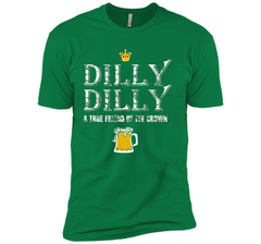 Dilly Dilly A True Friend Of The Crown Beer Lovers T Shirt Next Level Premium Short Sleeve Tee - PresentTees