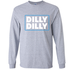 Bud Light Official Dilly Dilly T-Shirt LS Ultra Cotton TShirt - PresentTees