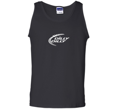 Funny Bud Light DILLY DILLY Shirt Black / Small Tank Top - PresentTees