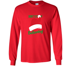 Don't Stop Believing Ugly Christmas Sweater Shirt LS Ultra Cotton TShirt - PresentTees