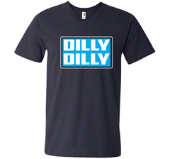 Bud Light Official Dilly Dilly Sweatshirt T Shirt Men Printed V-Neck Tee - PresentTees
